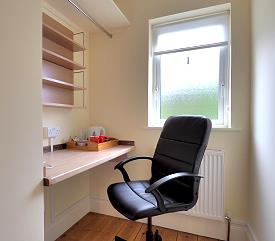 Bedroom with separate office available